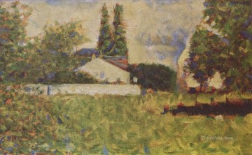 a house between trees 1883 Oil Paintings
